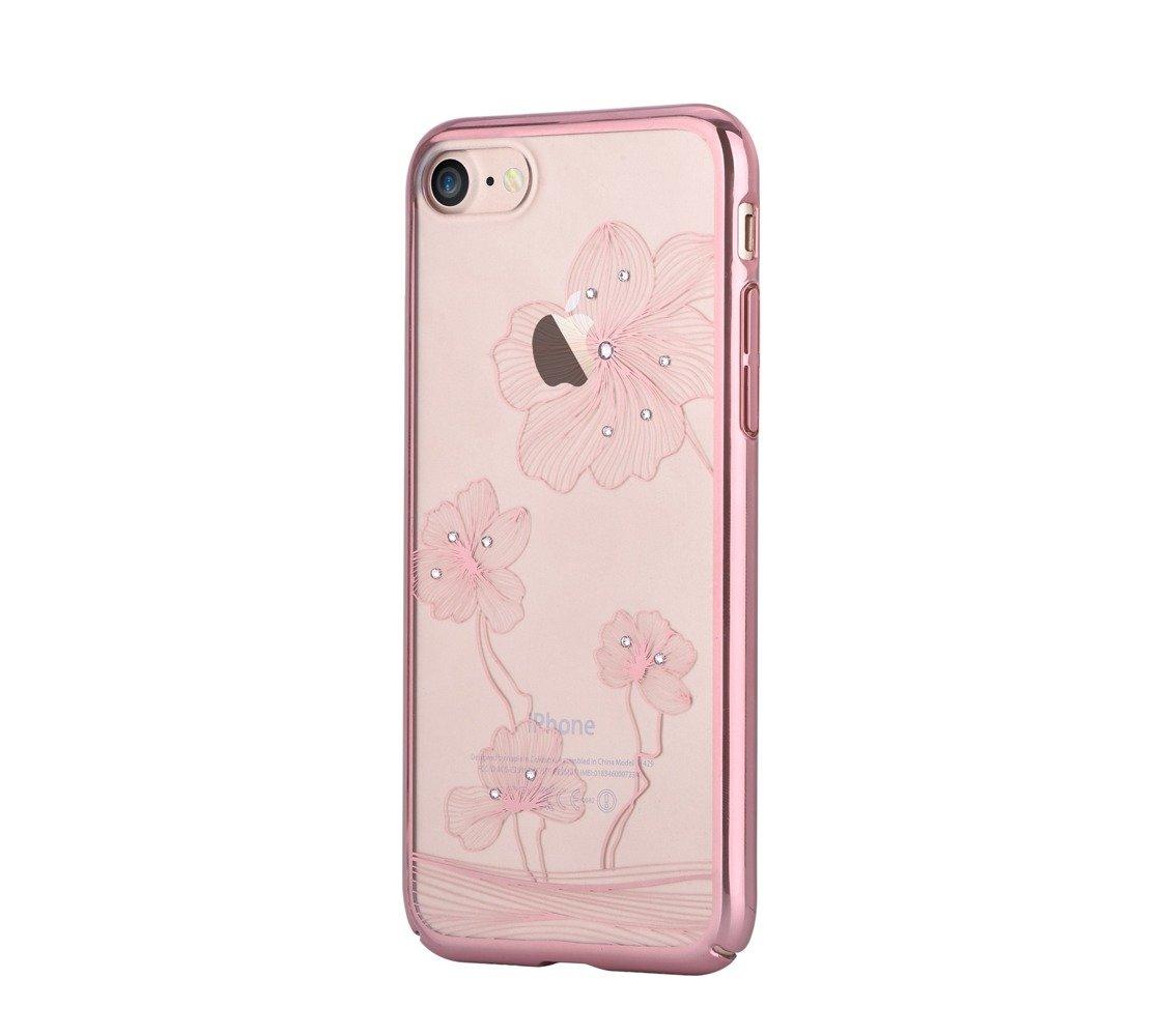 comma crystal flora 360 for iphone 7 rose gold rose gold. Black Bedroom Furniture Sets. Home Design Ideas