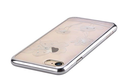 Comma Crystal Flora 360  for iPhone 7 Silver