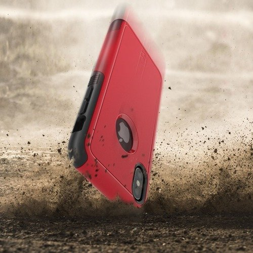 Patchworks Level AEGIS iPhone X Red / Black