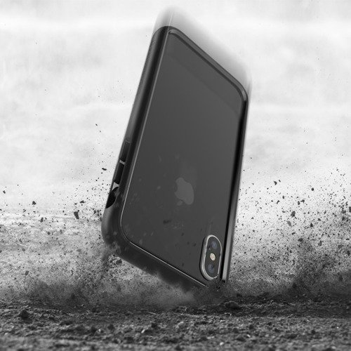 Patchworks Level Silhouette iPhone X - Black