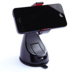 360 Grip Car Mount Holder for iPhone 5, 4S, Galaxy Note 3, S4, S5 - black