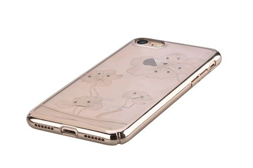 Comma Polka Swarovski Element Champagne Gold - etui dla iPhone 6 Plus / 6s Plus