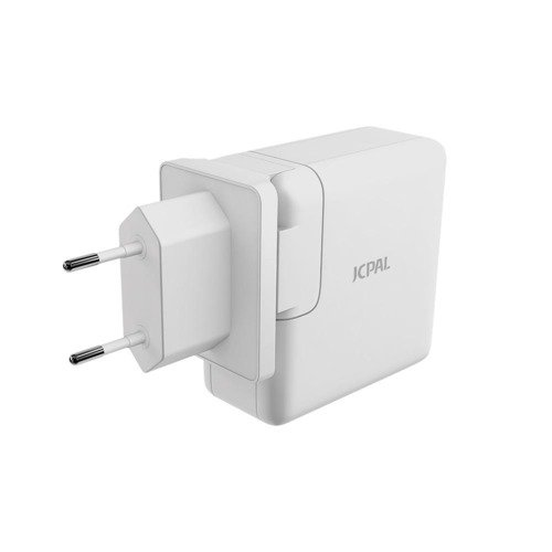 JCPAL USB-C PD Travel Charger with USB Port