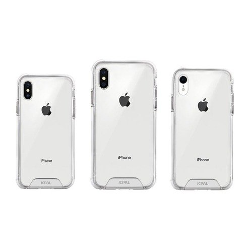 JCPAL iGuard FlexShield Case for iPhone Xs MAX - white