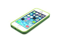 Bumper dla iPhone 5 - JCPAL Anti Shock Bumper (GREEN)