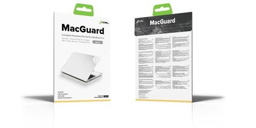 "JCPAL - Folia MacGuard dla MacBook Pro 16"" - Space Gray (5 w 1)"