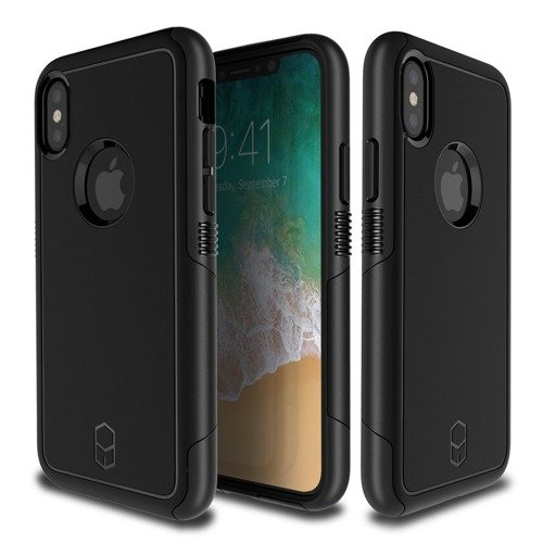 Patchworks Level AEGIS iPhone X Black / Black