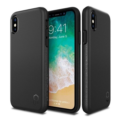 Patchworks Level ITG iPhone X Black / Black