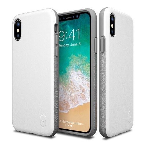 Patchworks Level ITG iPhone X White / Grey
