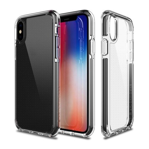 Patchworks Lumina EX iPhone X Black / Clear