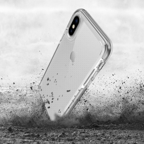 Patchworks Lumina EX iPhone X Grey / Clear