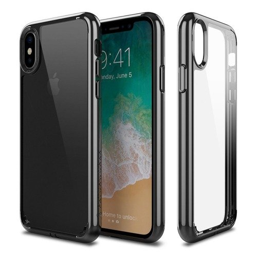 Patchworks Lumina iPhone X - Clear / Black